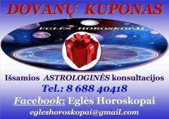 Išsami Astrologės Eglės konsultacija