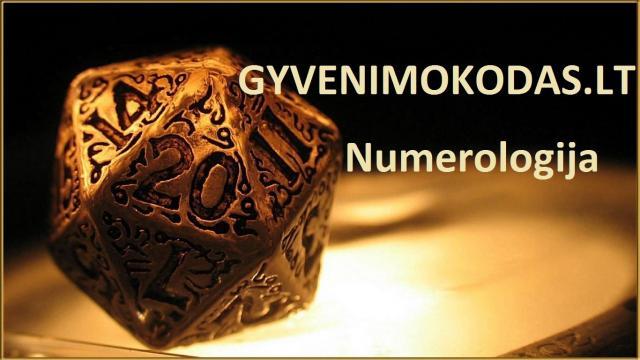 Numerologės paslaugos
