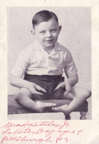Grady vaikystėje
