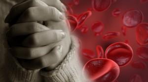 kraujas-malda