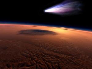 Mars-Comet