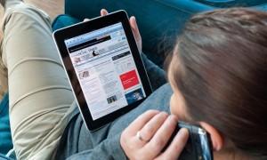iPad Financial Times