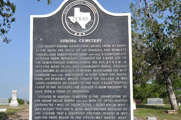 aurora-texas-state-marker