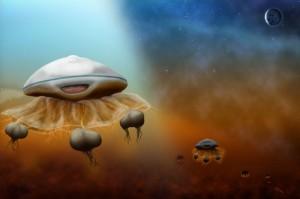 Nežemiška gyvybė yra visa gyvybė, kuri nėra kilusi iš Žemės planetos. Tai gali būti tiek bakterijų dydžio ir sudėtingumo organizmai, tiek protingos, sąmoningos būtybės. Nežemiškos gyvybės egzistavimas yra hipotetinis, nes kol kas nėra rasta jokių visuotinai pripažintų įrodymų. Nežemiška gyvybė, jei ji egzistuoja, galėjo arba nepriklausomai atsirasti skirtingose visatos vietose, arba atsirasti vienoje planetoje ir tada pasklisti po kitas.