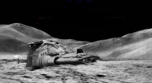 Mėnulis – vienintelis Žemės gamtinis palydovas ir artimiausias jai kosminis kūnas. Mėnulis nuo žemės atitolęs 1,3 šviesos sekundės. Antras pagal šviesumą (po Saulės) kosminis kūnas. Plika akimi šviesiame Mėnulio skritulyje matomos tamsios dėmės ir lygios žemesnės sritys; jos vadinamos jūromis. Šviesios sritys yra aukštumos ir vadinamos žemynais. Šie pavadinimai sąlygiški, nes Mėnulio paviršiuje nėra didelio kiekio vandens. Tiek jūrose, tiek žemynuose daug kraterių. Matomoje Mėnulio pusėje lygumų daugiau negu nematomoje.