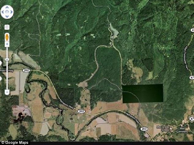 HAARP masyvas, Vašingtono-Oregono valstijų pasienis