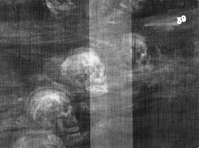 Rentgeno tyrimas atskleidė Johno Dee paveikslo paslaptį