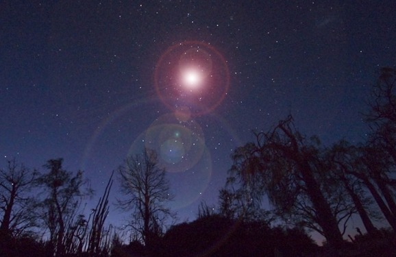 Supernovos sprogimas danguje.